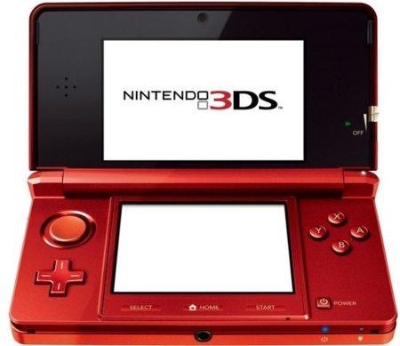 Nintendo 3DS en color rojo llega en septiembre
