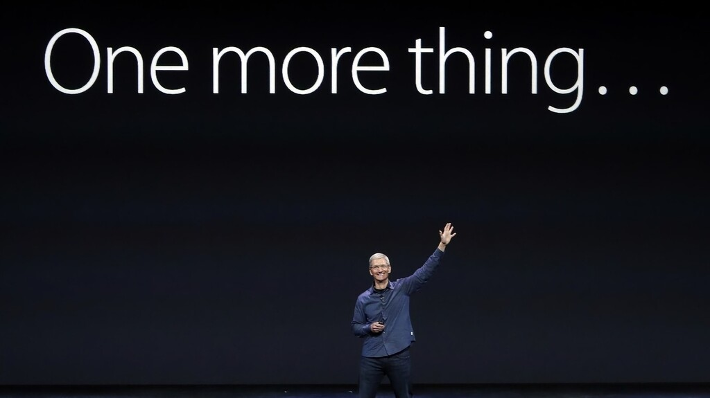 One more thing: eligiendo Apple™ Watch, widgets para iOS™ catorce y recientes envíos de Apple