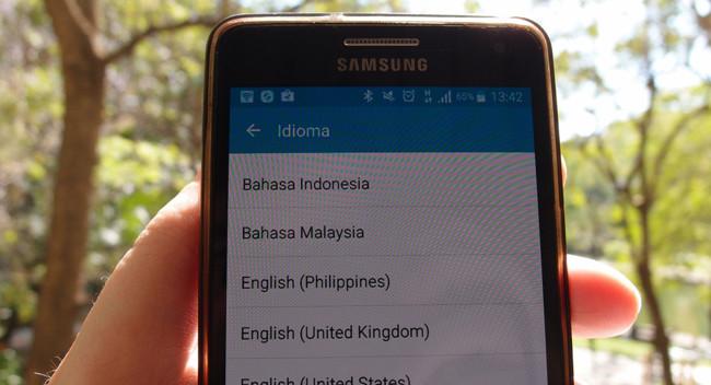 Cambiar Idiomas Android
