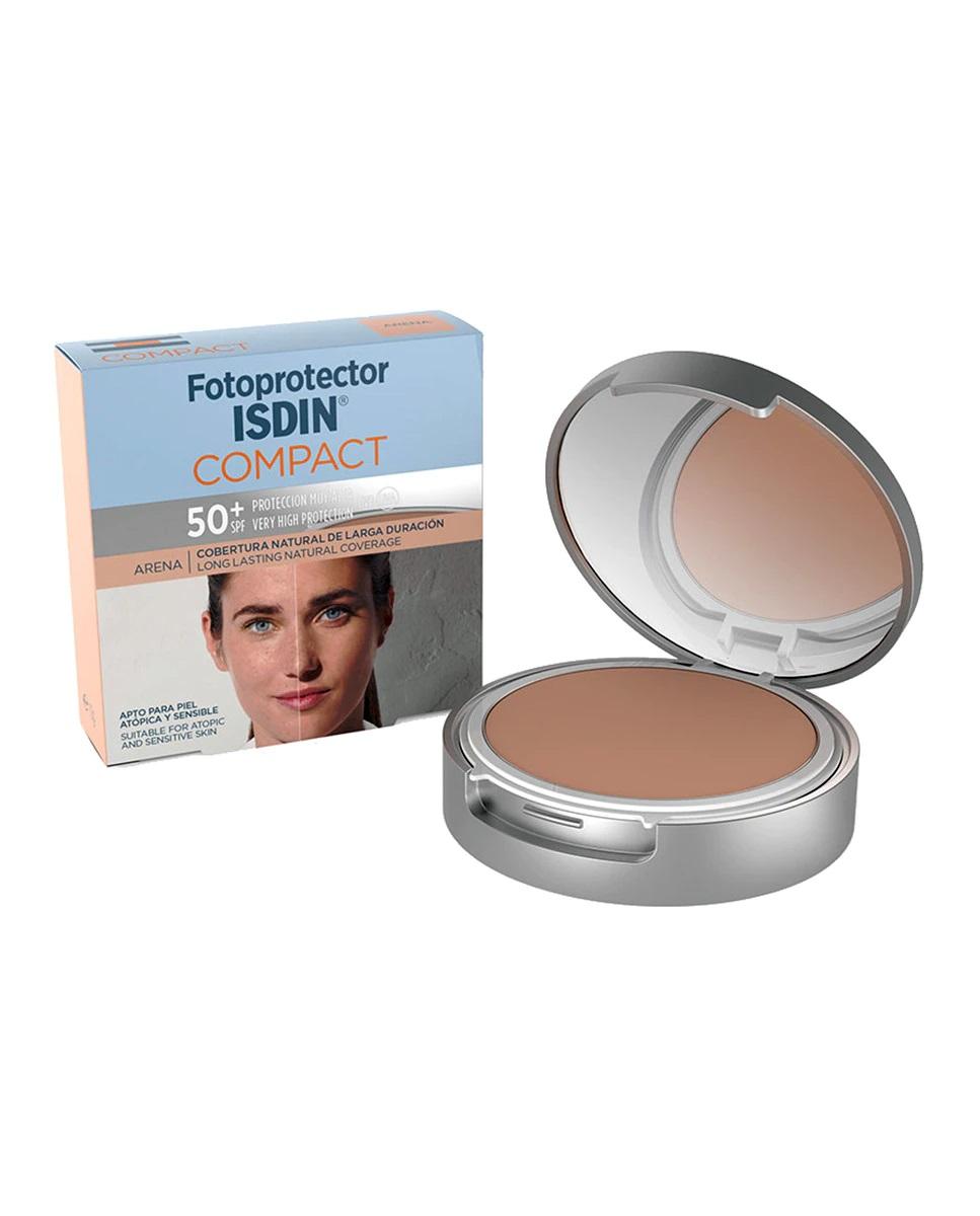 Polvos de maquillaje compactos con SPF50 de Isdin