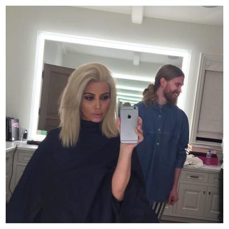 El día que Kim Kardashian se volvió rubia platino