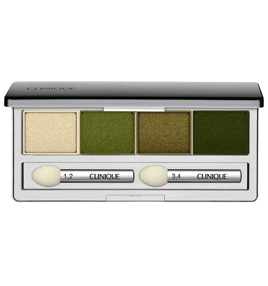 Paleta sombra de ojos 4 colores Clinique All About Shadow On Safari