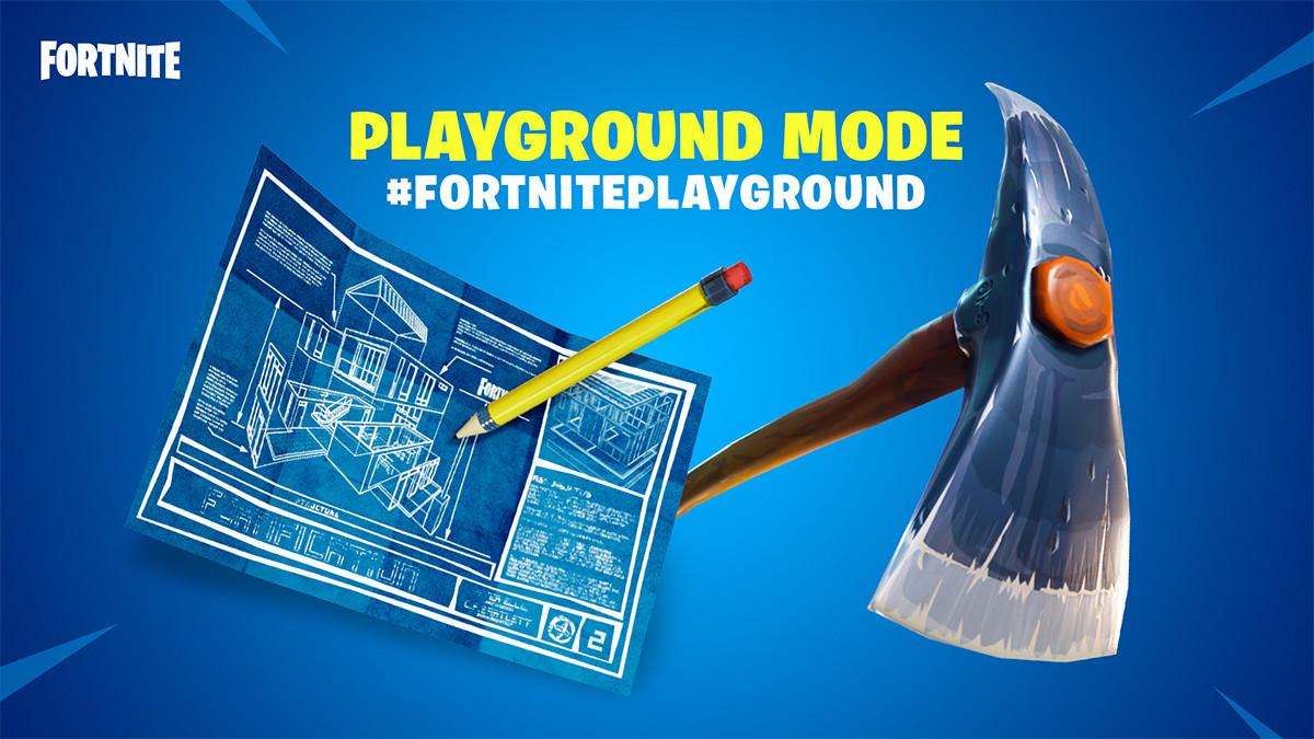 "⛏ Modo ""Playground"" llega hoy a Fortnite"