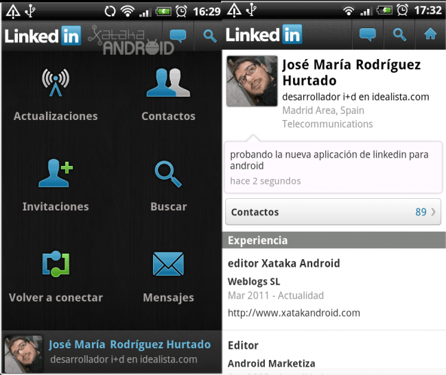 Linkedin Android