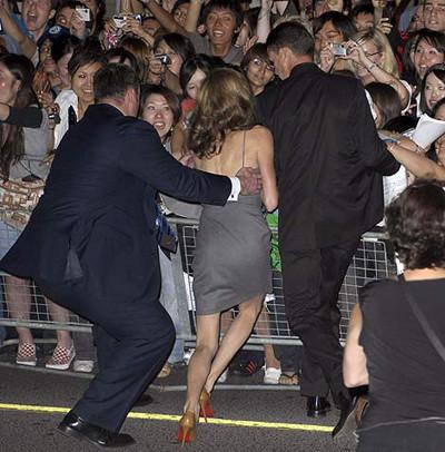 El traspiés de Angelina Jolie
