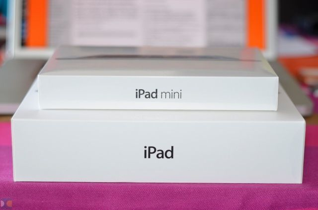 ipad mini caja apple unboxing