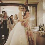 Marta Hazas se casó y allí estaban sus chicas Velvet
