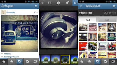 Lanzado Instagram 3.0, con énfasis en la navegación por el servicio