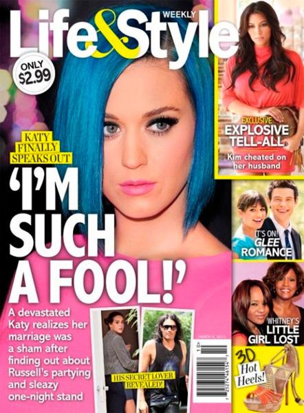 Katy Perry en Life & Style