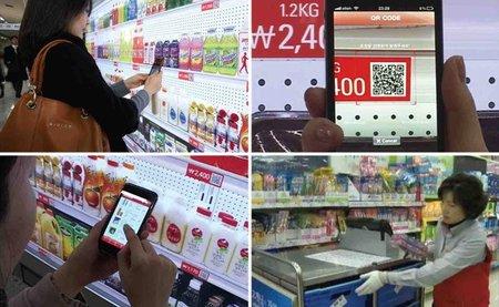 El supermercado del futuro - detalles
