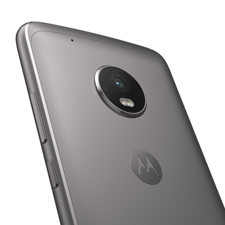 Moto G5 Plus Black Back Detail