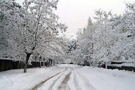 ¿Se podría fabricar nieve artificial con una simple manguera de jardín?