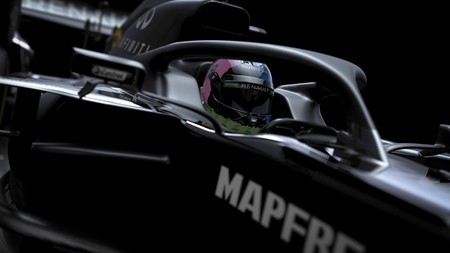 Renault tiñe de negro su 'tetera amarilla', un coche de transición antes del gran asalto a la Fórmula 1