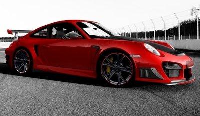 TechArt GTStreet RS, otra novedad en Fráncfort