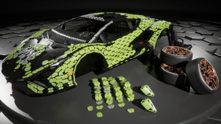 Lamborghini Sian Lego 2021 004