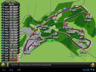 F1LT, una app gratuita para seguir la Fórmula 1 en tiempo real