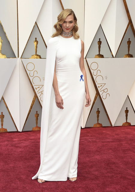 Karlie Kloss Stella Mccartney Oscars2017