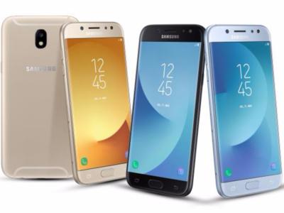 Samsung Galaxy J7 2017, J5 2017 y J3 2017, comparativa: así ha evolucionado la gama básica de Samsung
