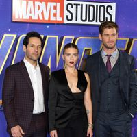 Chris Hemsworth y Paul Rudd, dos hombres con estilo en la premiere de Avengers Endgame