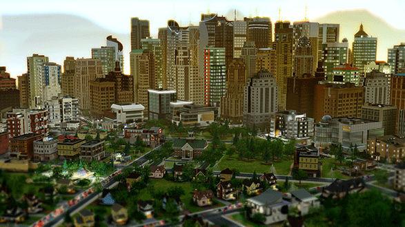 Edificios de SimCity 2013