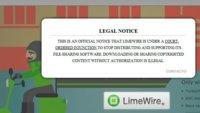 Limewire cerrado por orden judicial