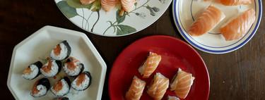 Qué debes saber para hacer sushi casero por primera vez (y cuatro recetas fáciles de salmón para empezar)