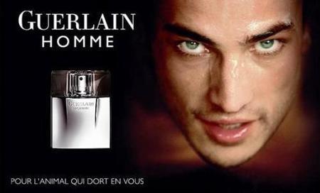 Guerlain Homme, la fragancia para el animal que late en tí