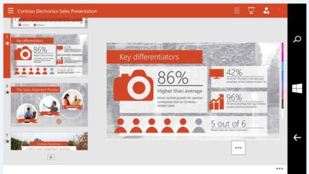 La aplicación universal de Office llegará a Windows 10 para móviles la semana que viene
