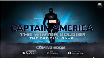 Captain America: The Winter Soldier llegará a Windows Phone, aunque sin fecha de lanzamiento