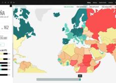 ¿Cuales son los países más violentos o pacíficos del mundo? Estos mapas interactivos te los enseñan