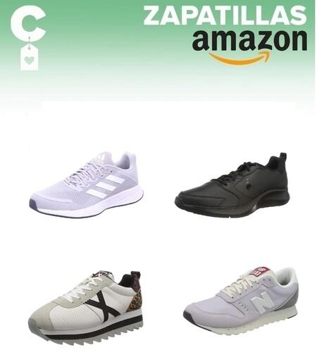 Chollos en tallas sueltas de zapatillas Adidas, Munich, New Balance o Nike en Amazon
