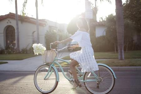 Aimee Song White Dress Beach Cruiser