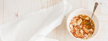 Ensalada de langostinos, pomelo y aguacate. Receta