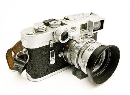 Leica M4 con un objetivo de 35mm