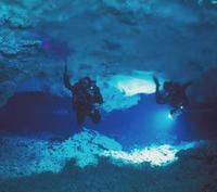 Espeleobuceo en México, descubrir las cavernas