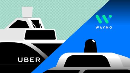 Uber acuerda pagar a Waymo (Google) 245 millones de dólares para cerrar su batalla legal