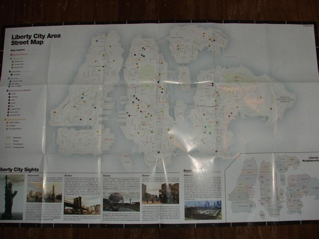 Foto de Mapa GTA IV (2/6)