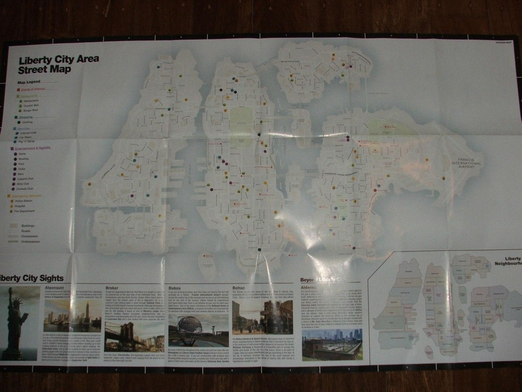 Mapa GTA IV