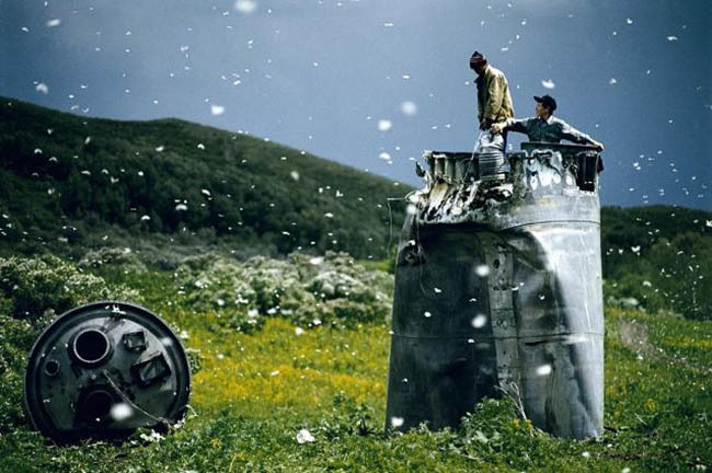 RUSSIA, Altai Territory (2000) por Jonas Bendiksen