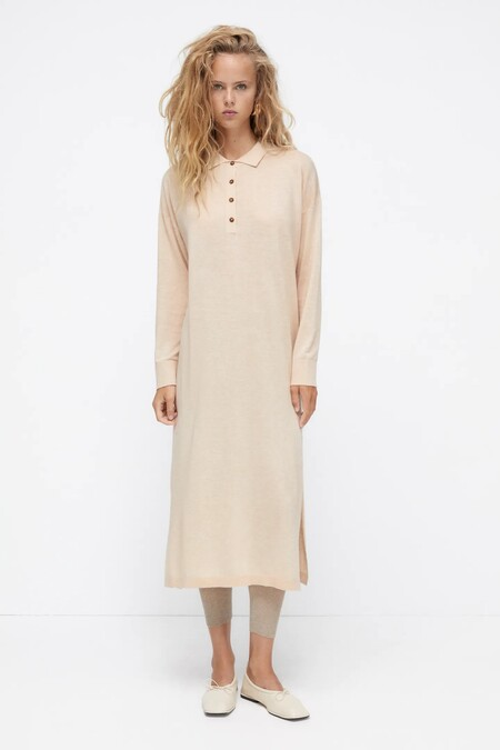 Vestidos Midi De Zara Para Ir A La Oficina