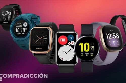 Aprovecha las ultimas horas de ofertas en relojes inteligentes y pulseras deportivas en Amazon y hazte con un Fitbit, un Garmin, un Huawei o un Samsung al mejor precio