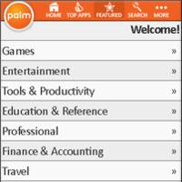 """Palm presenta una """"tienda de aplicaciones"""""""