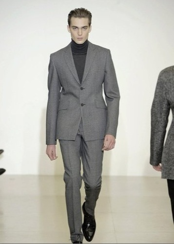 Jil Sander, colección Otoño-Invierno 2009/2010, traje