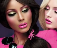 Look Barbie, ¡¡viva el colorete!!