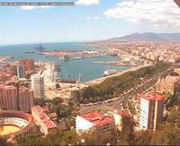 Cámaras web en la ciudad de Málaga