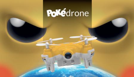 Pokédrone, el dron que te permite cazar a todos los Pokémon (de Pokémon Go)