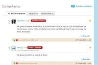 Novedades en los comentarios en Decoesfera