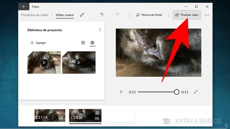 Finalizar Videos