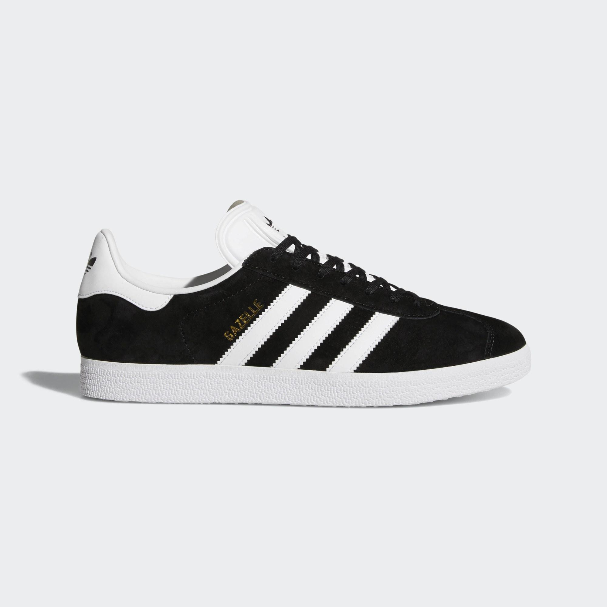 Clásicas zapatillas Gazelle en blanco y negro