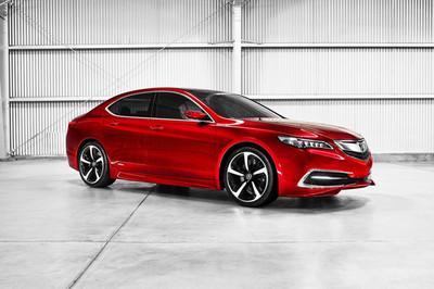 Auto Show de Detroit 2014: Acura TLX